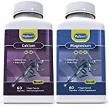 MgSport Calcium Magnesium Multivitamin & Multimineral Supplement Supports Bone Density and Osteoporosis Calcium & Magnesium levels- With D2, D3, K2, B6, E