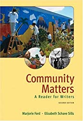Community Matters: A Reader for Writers (2nd Edition)
