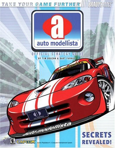 Auto Modellista(TM) Official Strategy Guide (Official Strategy Guides (Bradygames))