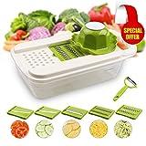 Kebidu Mandoline Slicer Multifunctional Vegetable Peeler Slicer...