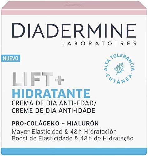 Diadermine Crema de Día Lift+ Hidratante, con tecnología Skinplex Optimizadora de Colágeno, Hidratación Intensa, 50 mililitros