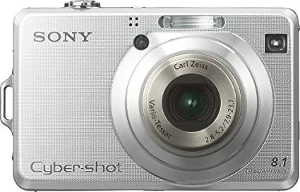 amazon com sony cybershot dsc w100 8 1mp digital camera with 3x rh amazon com Cyber-shot Quality Sony Cyber-shot DSC-HX100V