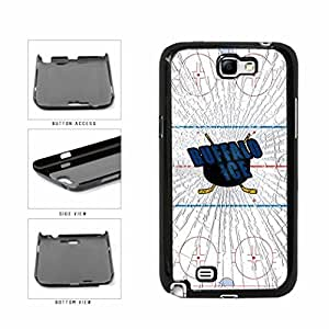 Buffalo Ice Plastic Phone Case Back Cover Samsung Galaxy Note II 2 N7100