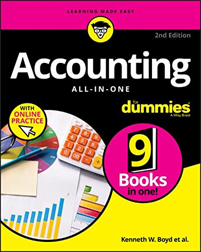 Accounting All In One For Dummies  With Online Practice