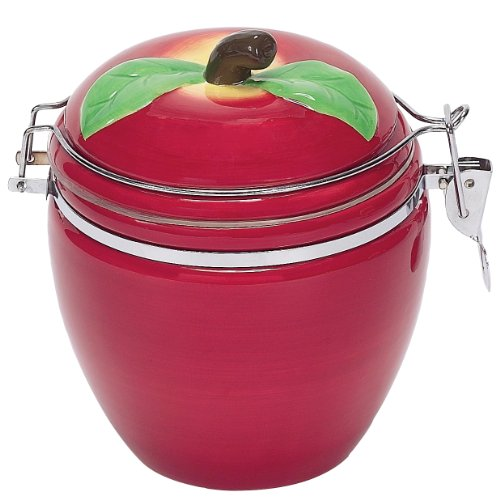 Boston Warehouse Apple Pickin' Hinged Jar ()