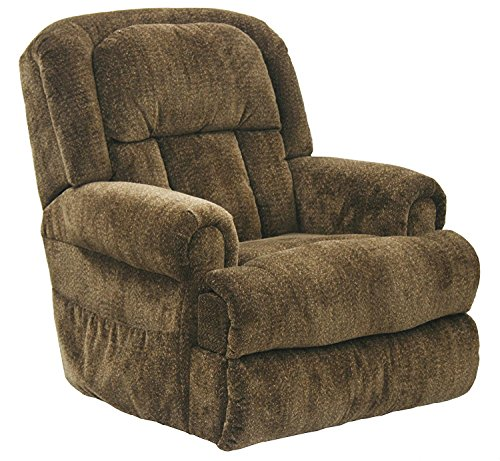 4847-1763-29 (Earth) Catnapper Burns Power Lift Chair & Recliner-Dual Motor Lift Chair Allows Back and Ottoman to Move Separately -Lay Flat Recliner