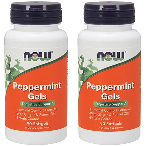 NOW Foods Peppermint Ginger Softgels