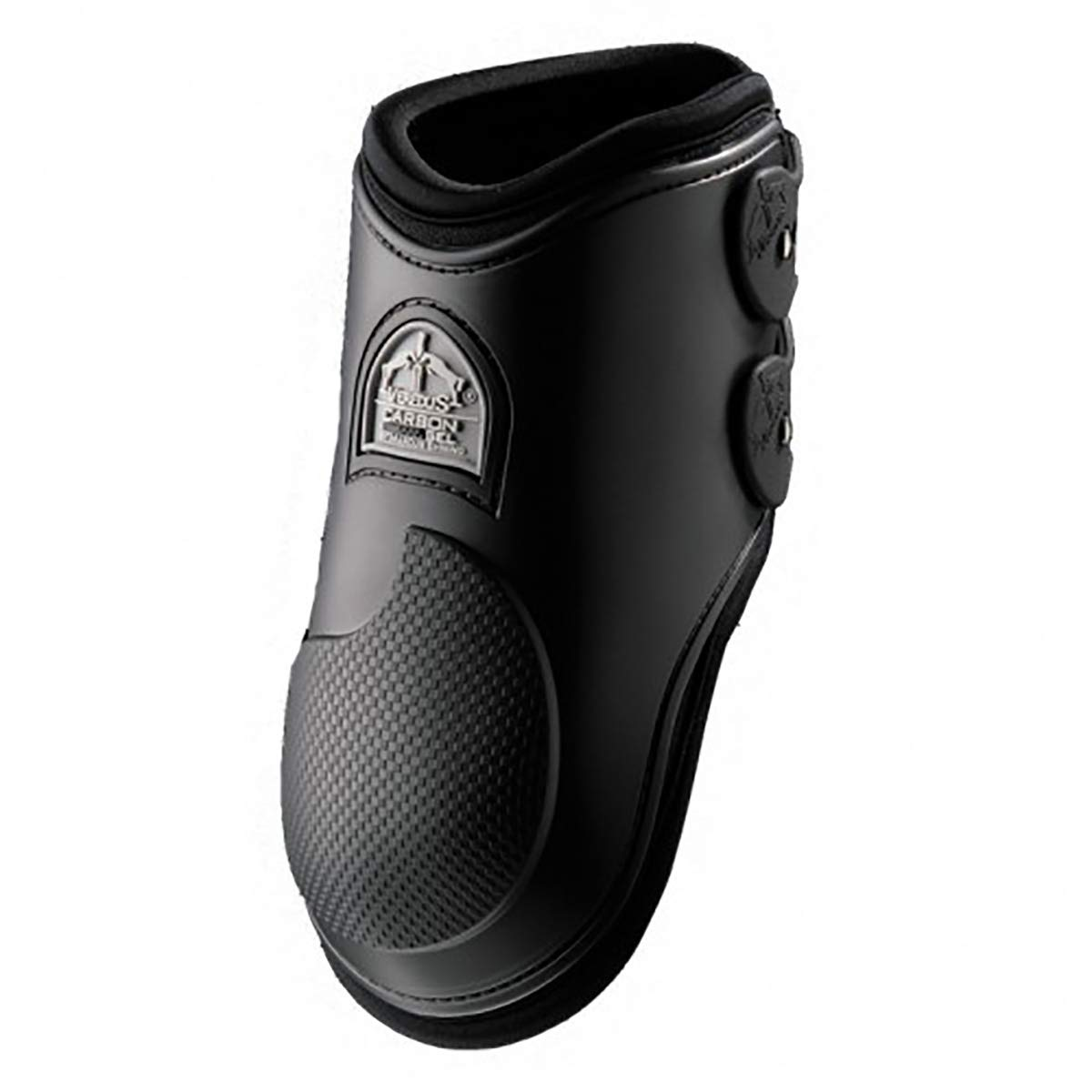 Veredus - Fetlock Carbon Gel Vento Rear - Horse Boots - Made in Italy - Black