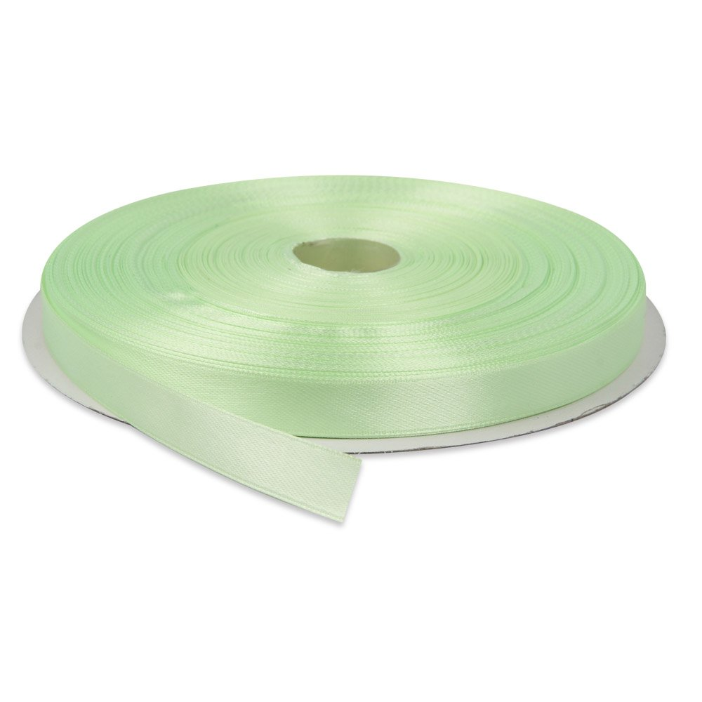 Green Topenca Supplies 1//2 Inches x 50 Yards Double Face Solid Satin Ribbon Roll