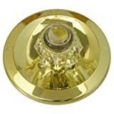Simpatico 31651P Delta Trim Kit, Round Brass Tub or Shower Escutcheon, Sleeve, Retainer Cap, Screws and Handle, Polished Brass