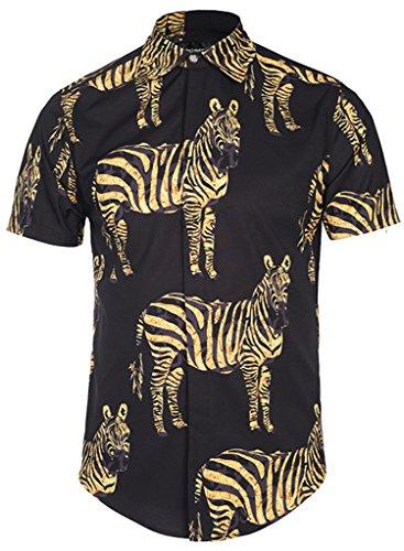Zebra Print Party Dress - 8