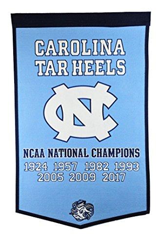 Winning Streak NCAA North Carolina Tar Heels Dynasty Banner Champion North Carolina Tar Heels