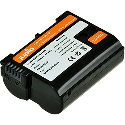 Jupio Digital Camera Rechargeable Battery for Nikon EN EL15 Photo Studio   Lighting