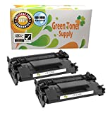 GTS Remanufactured Toner Cartridge Replacement for HP CF226X ( Black , 2-Pack )