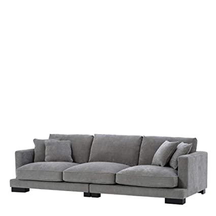 Amazon.com: Classic Gray Sofa | EICHHOLTZ Tuscany | Dark ...