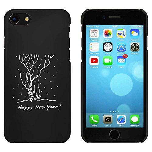 Schwarz 'Happy New Year' Hülle für iPhone 7 (MC00067493)