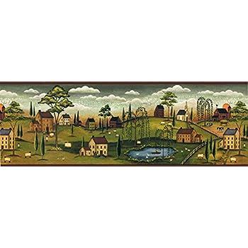 Country Wallpaper Border SB10274B