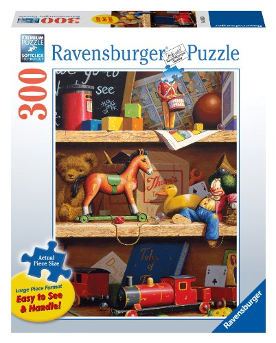 Toy Shelf 300 Piece Large Format Puzzle