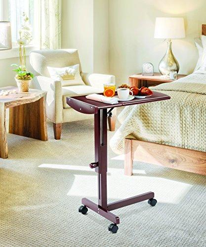 Walnut Tilt Top Table - 9