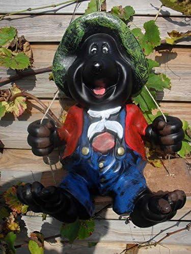 Topo en columpio – Nuevo y inmediatamente disponible – Figuras de Animales figuras – Jardín – M006: Amazon.es: Jardín