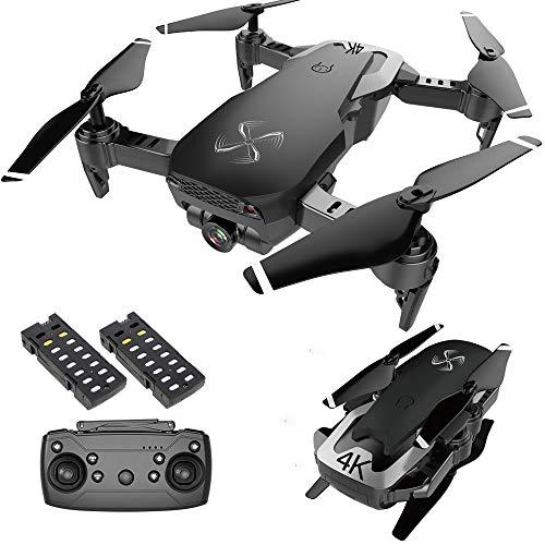 DRONE-CLONE XPERTS Drone X Pro AIR 4K Ultra HD Dual Camera FPV WiFi Quadcopter Follow Me Mode Gesture Control 2…
