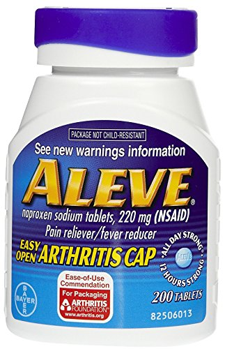 - Aleve Pain Reliever Tablets with Easy Open Cap-200 ct.