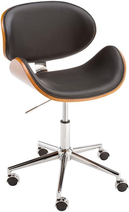 Sunpan Modern Quinn Office Chair, Onyx