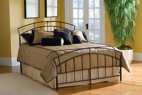 Hillsdale Vancouver Full Spindle Bed in Black ()