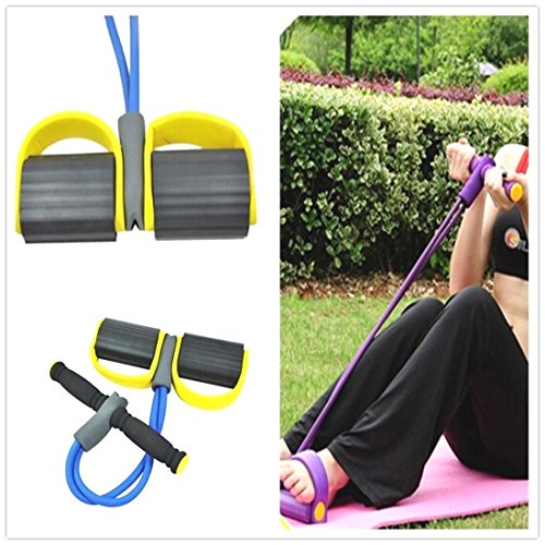 New Yellow Body Tummy Action Rower Abdominal Exercise Fitness Yoga Equipment W (Hot Dollar Costumes)