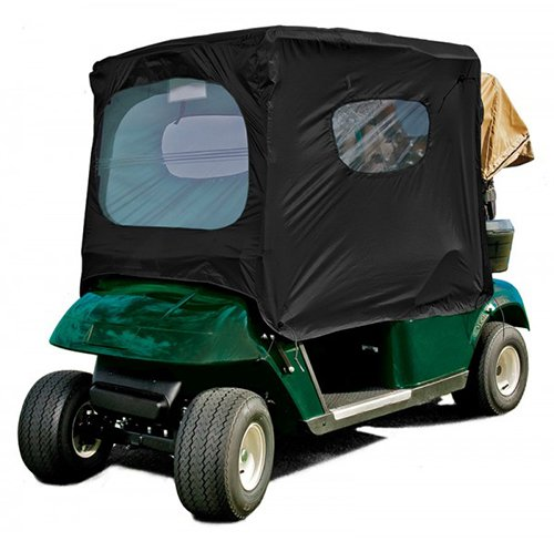 Frogger Golf Cart Poncho, Black, One Size ()