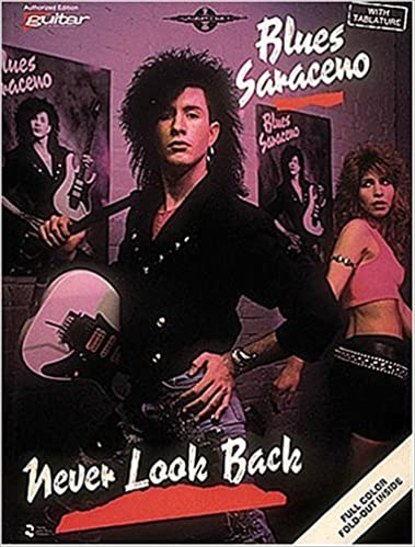 blues saraceno never look back guitar vocal