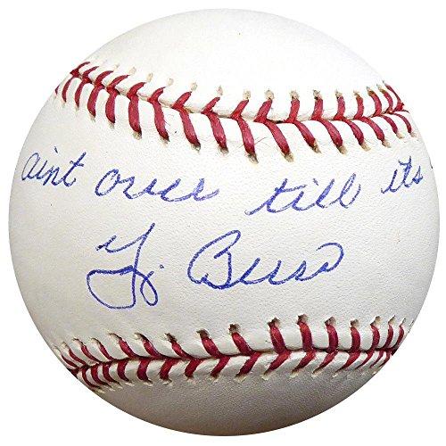 Yogi Berra Autographed MLB Baseball