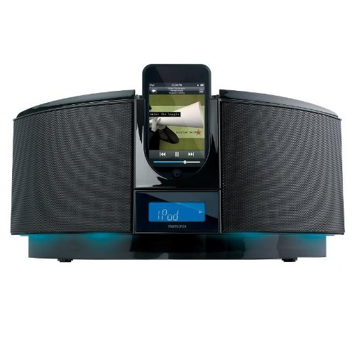Memorex Home Audio System with iPod Dock and CD Player (B...