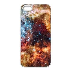 Tarantula Nebula funda iPhone 4 4S Cubierta blanca del teléfono celular de la cubierta del caso funda EVAXLKNBC18641