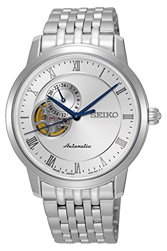 Seiko Presage Automatic SSA267J1 Silver Dial Stainless Steel Men's Watch