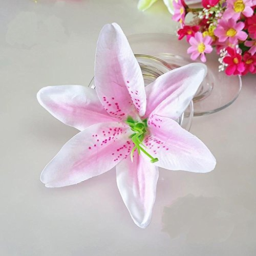 - Artificial Silk Flower Head Lilies 5.5