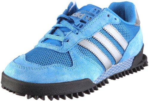 adidas Marathon [38 23] UK 5½ black off white: Amazon.co.uk: Sports & Outdoors