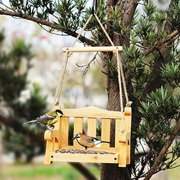 Comedero para Pájaros, Comedero Giratorio para Pájaros - Comedero - Comedero para Pájaros De Jardín - Observación De Aves Al Aire Libre: Amazon.es: Deportes y aire libre