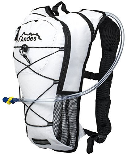 Andes 2 Litre Hydration Pack/Backpack Bag Running/Cycling with Water Bladder/Pockets