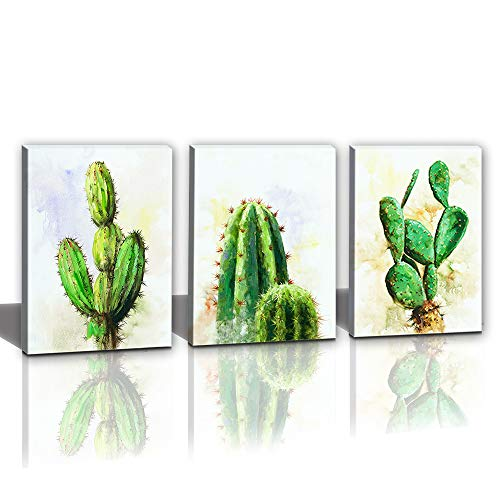 Hongwu Painting Succulent Stretched 12x16inch product image