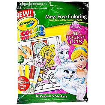 Crayola Color WonderDisney Princess Enchanted Coloring Book And Markers Style May Vary