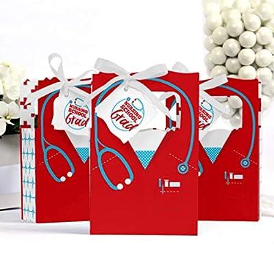 Nurse Graduation - Medical Nursing Graduation Party Favor Boxes - Set of 12: Toys & Games