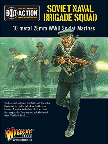 Miniatures Naval - Pack Of Soviet Naval Brigade Squad Miniatures