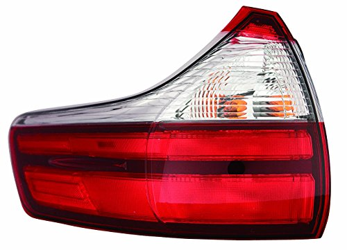 Depo 312-19C6L-AF Tail Lamp Assembly (Toyota Sienna 15-16 Driver Side (Toyota Sienna Replacement Driver)