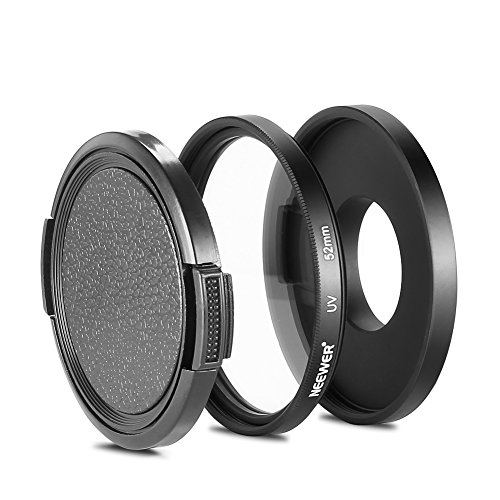 Neewer Black Filter Adapter Protecting