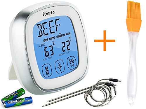 Riesto Digital Meat Thermometer Grill product image