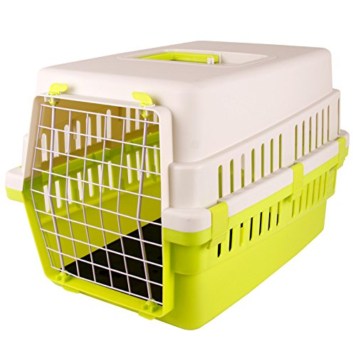 GREEN-S JYB Pets Dogs Cats travel by air air box cage cage check box dog flight cage , green , s