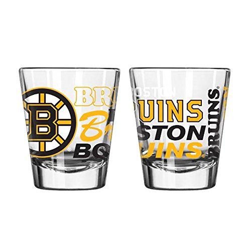 Boston Bruins Official NHL 2 fl. oz. Spirit Shot Glass