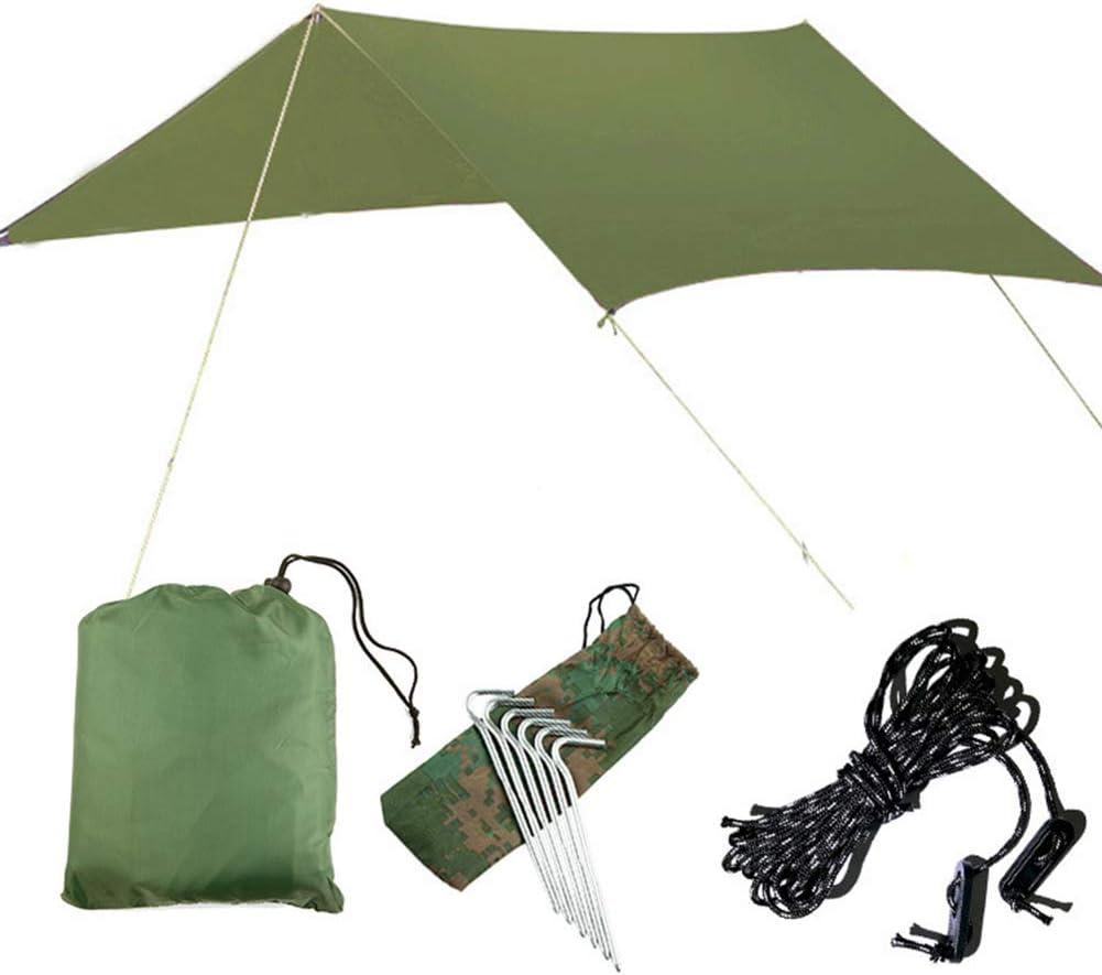 GYFHMY Pérgola al Aire Libre Sombrilla Sombrilla Canopy Bloque UV Sombrilla Patio Tela Cubierta de Tela Toldo para Patio Trasero Jardín Patio Instalaciones y Actividades: Amazon.es: Hogar