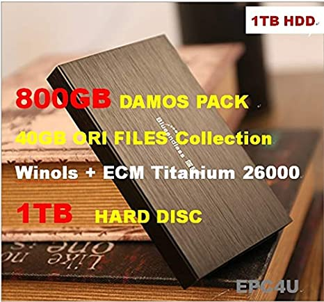 SattvDiag Winols 2 24\2 26+800GB DAMOS Pack 40GB ORI: Amazon